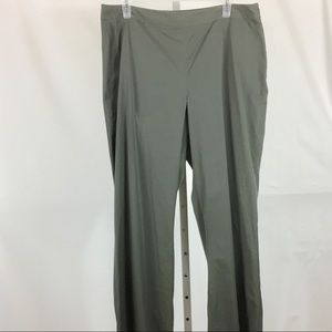 Brooks Brothers Pants Flat Front Size 14 Green